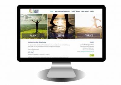 Align Move Thrive Website
