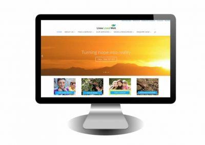 Lives Lived Well Website