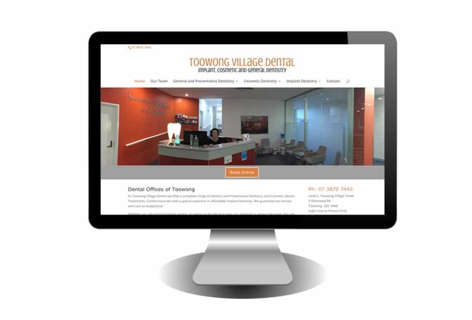 Toowong Village Dental Website