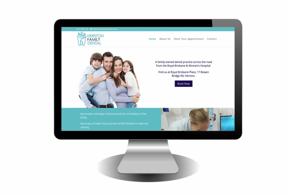 Herston Family Dental Website