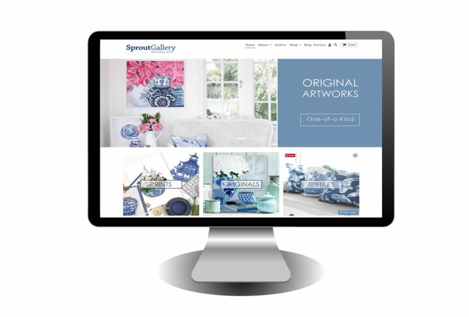 Sprout Gallery Website