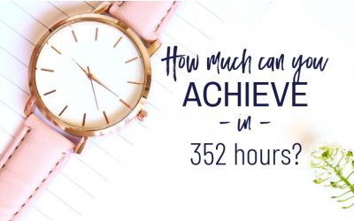 Just how much can you achieve in 352 hours?