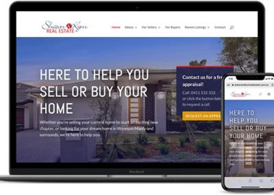 Shawn and Kym Real Estate Website and Marketing Strategy