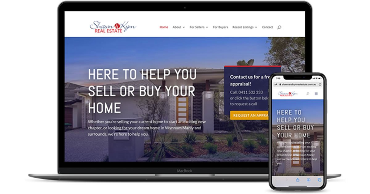 Shawn and Kym Kristofer Real Estate Website and Marketing Strategy