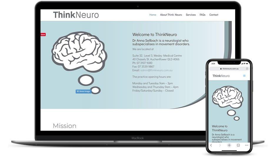 ThinkNeuro Website