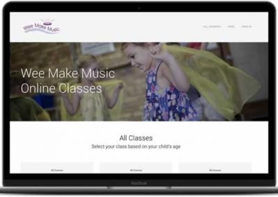 Wee Make Music Online Classes