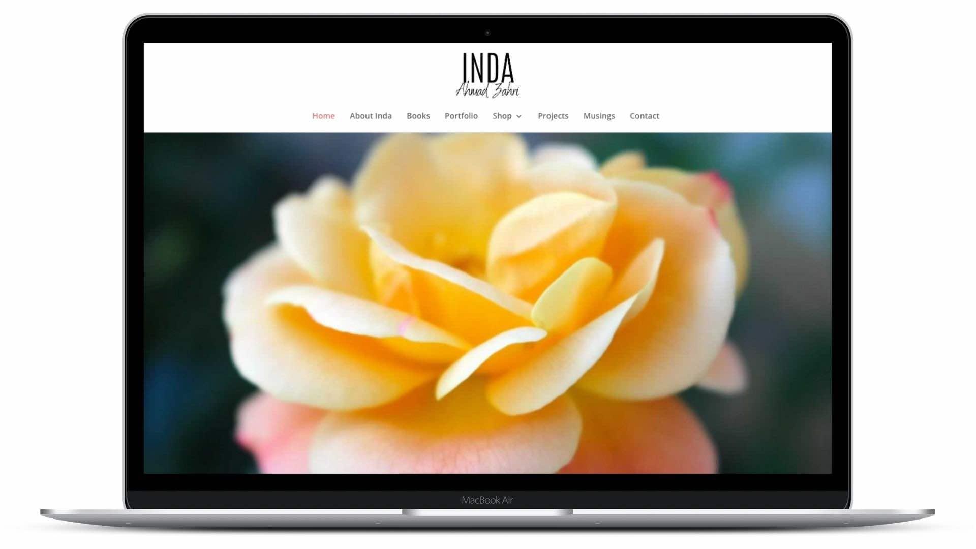 Inda Binda's Website created by Kym O'Gorman