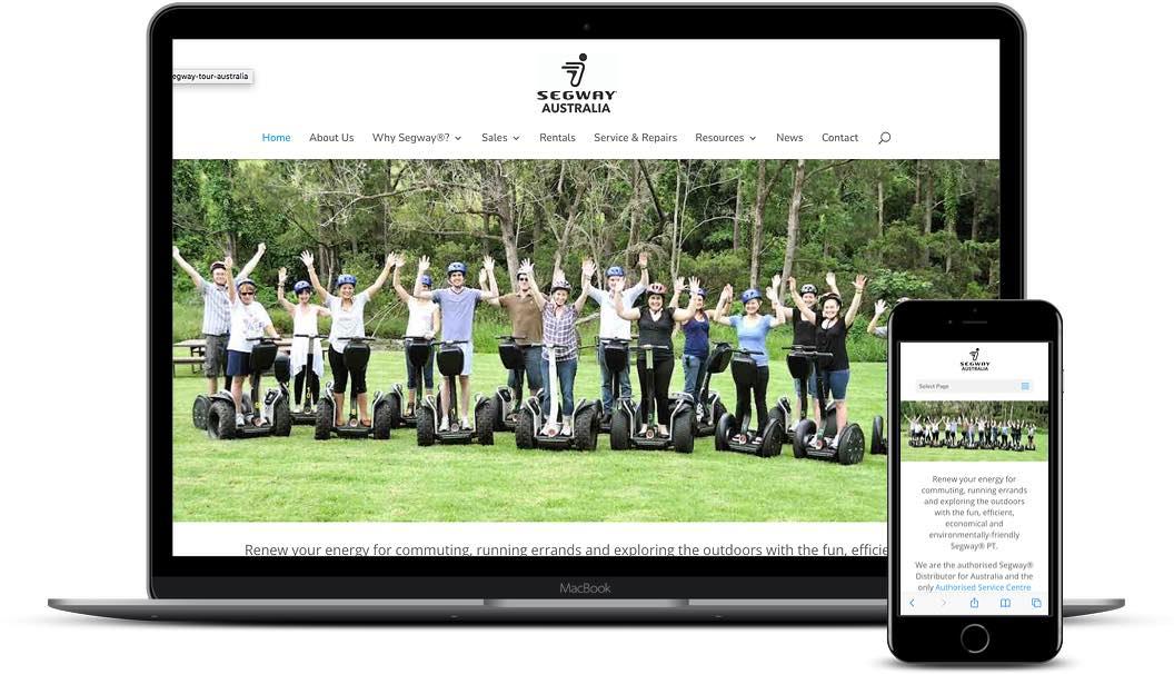 Segway Australia website