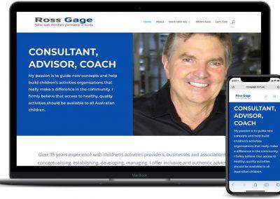 Ross Gage Website
