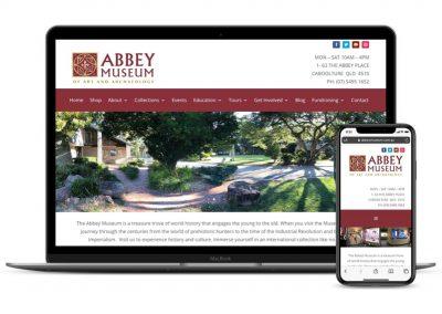 Abbey Museum Website
