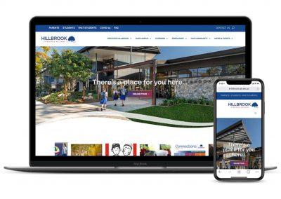 Hillbrook Website