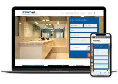 Scotcoms Electrical Website