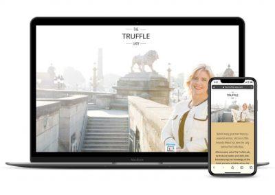 The Truffle Lady Website